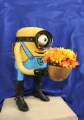 Recycled Yart Art Winner 2017 Yard Minion