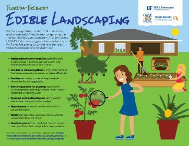 Edibles Landscaping Infographic 380x294 - Volusia County Master Gardener Plant Faire